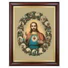 Herz Jesu-Bild