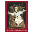 Weihnachtskarte Jesukind