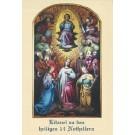Litanei Heilige 14 Nothelfer-Gebetszettel