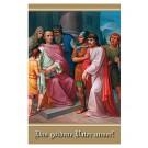 Goldene Vater unser-Gebetszettel