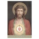 Litanei vom Heiligsten Herzen Jesu-Gebetszettel