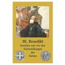 Heiliger Benedikt-Gebetszettel