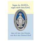 Segne du, Maria-Gebetszettel