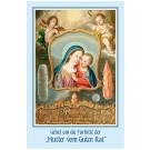 Gebetsbildchen - Mutter vom Guten Rat
