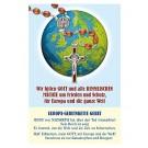 Europa Gebetskette - Gebetszettel