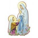 Figurengruppe Muttergottes und Bernadette