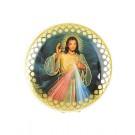 Rosenkranzdose mit Barmherzigen Jesus