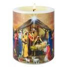 Weihnachtskerze - Heilige Drei Könige